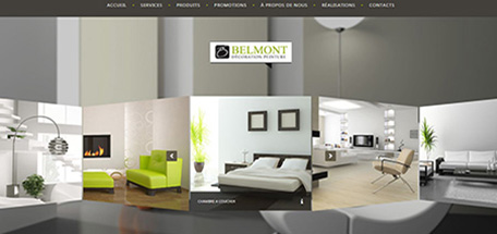 Design Web Belmont decoration