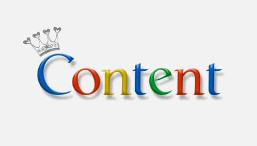 contenu de qualité pour référencement google