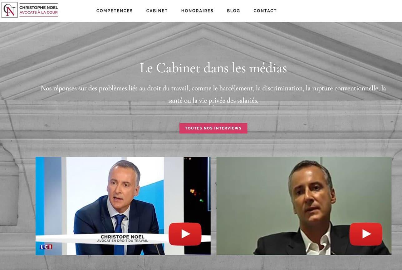 Avocat droit du travail Paris, christophe Noel